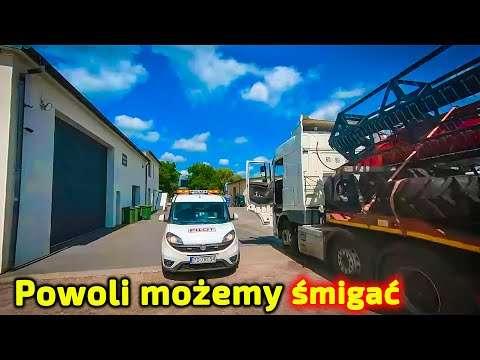 Embedded thumbnail for Dlaczego 2 kierowców wiezie 1 kombajn? Zobacz to dokładniej niż zwykle ale obracaj ekranem!