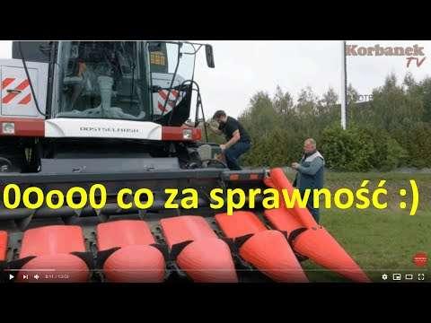 Embedded thumbnail for Przystawka po dwóch sezonach jak nowa Powiem dlaczego tak jest Zaczynamy żniwa kukurydziane 2020