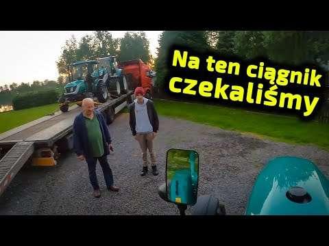Embedded thumbnail for Jacek dostarczył ciągnik pod dom Mały problem z wjazdem, większy z wyjazdem!
