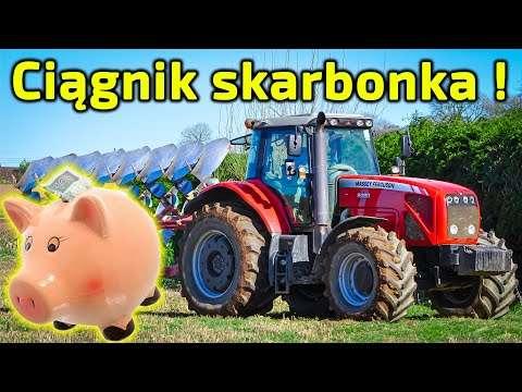 Embedded thumbnail for UWAGA - Ciągnik skarbonka Ceny napraw z kosmosu ! KU PRZESTRODZE