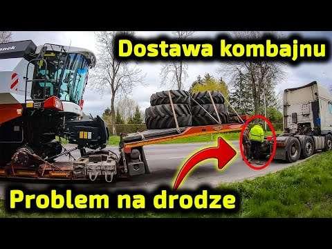 Embedded thumbnail for Ponad 600 km konwój z kombajnem Problem w okolicy Zamościa Zobacz co się stało