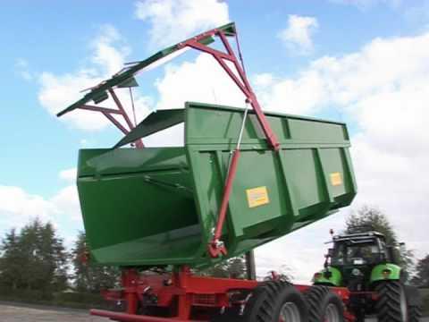 Embedded thumbnail for Przyczepy rolnicze METALTECH TS Mirosławiec - najlepsze przyczepy