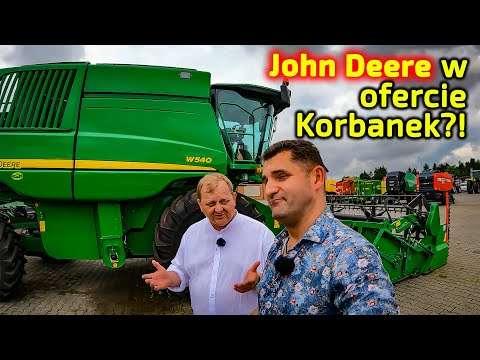 Embedded thumbnail for Kombajn John Deere W 540 255 KM w rozliczeniu zapłaty za nowy Fendt 6335 360 KM