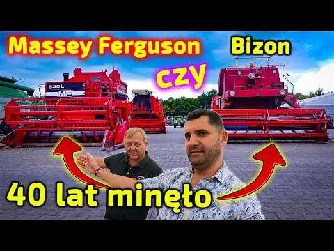 Embedded thumbnail for 41 lat!! ma ten kombajn Massey Ferguson 530 L czy jest lepszy od Bizona?