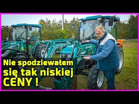 Embedded thumbnail for Traktorek Arbos do prac komunalnych Najlepszy miniciągnik w tej cenie !