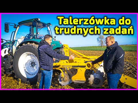 Embedded thumbnail for Talerzówka do trudnych zadań Kilka patentów Najlepsza do ścierniska po kukurydzy
