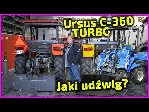 Embedded thumbnail for Udźwig Ursus-a C-360 TURBO =1800 kg Czy mini-ładowarka może podnieść więcej?