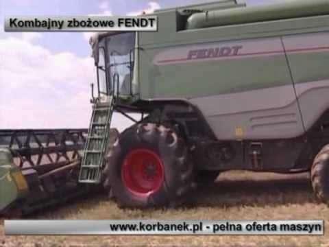 Embedded thumbnail for Kombajny, Ciągniki, Maszyny rolnicze z oferty www.korbanek.pl
