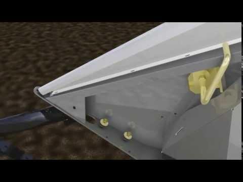 Embedded thumbnail for HEDER Przyrząd żniwny POWER FLOW - FENDT MASSEY FERGUSON AGCO ANIMACJA