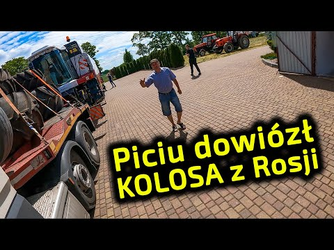 Embedded thumbnail for Kolos z Rosji Mega wyzwanie przy rozładunku u rolnika Jak to zrobił Piciu?